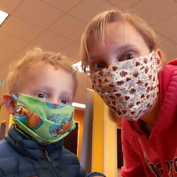 Bryce at hospital