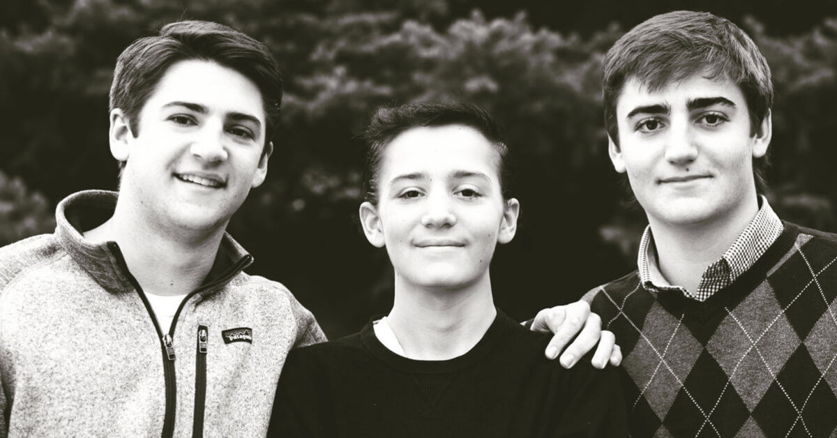 Will Maniatis and brothers